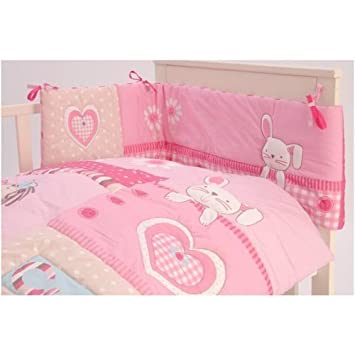 c8bc2ba6e545e NEW CLAIR DE LUNE MY DOLLY COT   COTBED BABY QUILT AND BUMPER BEDDING SET   Amazon.co.uk  Baby