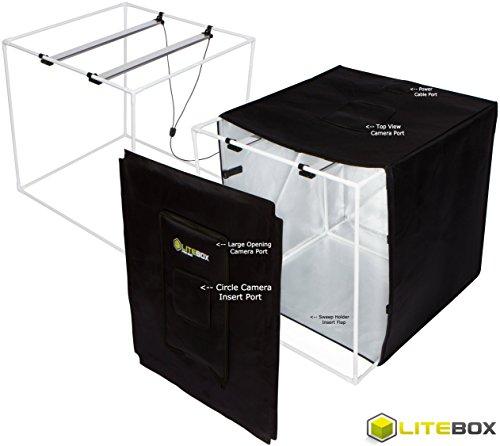 "Diy Led Studio Light: LITEBOX 24"" Portable Photo Studio Kit"