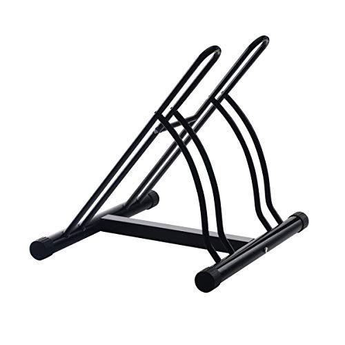 (2006 RAD Cycle Mighty Rack Two Bike Floor Stand Bicycle Instant Park Bike Rack Cycle Stand - Pro-Quality! )