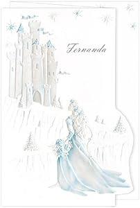amazon com blue blank quinceanera invitations castle dream aqua