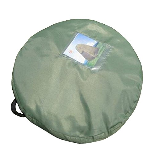 Boshen Portable Privacy Tent Shelter Bathing Fitting Room with Window and Carrying bag(Green)