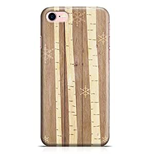 Loud Universe iPhone 7 Case Wood Stripes Pattern Low Profile Light Weight Wrap Around iPhone 7 Cover