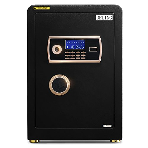 Doitpower 22 Inch 2.0 Cubic Feet Digital Electronic Safe Black Box Password Lock Home Office Use