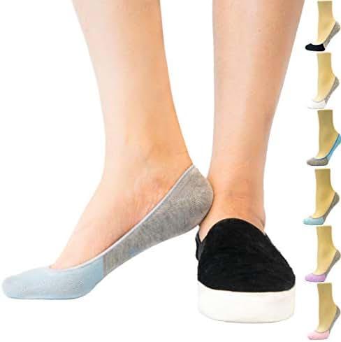 Thirty48 Women's No Show Socks, Loafer Socks Boat Shoe Socks Liner Socks with Coolplus, Non-Slip Grip