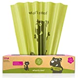 Earth Rated Eco-Friendly Poop Bags, Extra Large 11'' x 13'', Lavender-Scented, for Large Dogs, 225 Bags on a Large Single Roll
