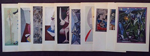 1955 Vintage PABLO PICASSO offset lithographs lot 10 Full Color Plate prints # 2 (Vintage Nude-damen)