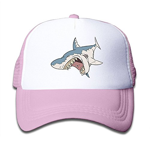 Discount DNUPUP Kid's Fierce Shark Adjustable Casual Cool Baseball Cap Mesh Hat Trucker Caps free shipping