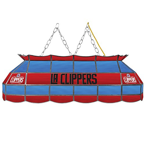 Clippers Nba Lamp - NBA Los Angeles Clippers Tiffany Gameroom Lamp, 40