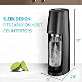 SodaStream Fizzi Sparkling Water Maker (Black) with