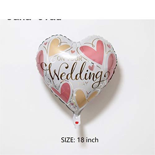 FOIBALDECO 1Pcs Diamond Ring Foil Balloons Wedding Marriage Inflatable Decoration Balloon Gold Helium Air Ball Birthday Party 2