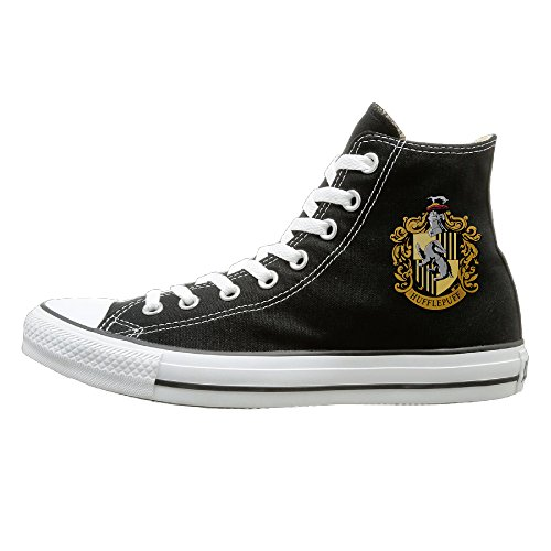 Tracy Harry Potter Hufflepuff Badger Prevent Slippery Unisex Flat Canvas High Top Sneaker 39 Black (Mini Keurig In Pink compare prices)