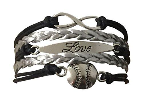 Baseball Bracelet or Softball Bracelet – Baseball Jewelry For Women- Perfect Baseball Gift – DiZiSports Store