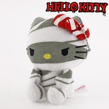 Sanrio Hello Kitty Monster Collection Plush Doll Ball Chain (Mummy) -