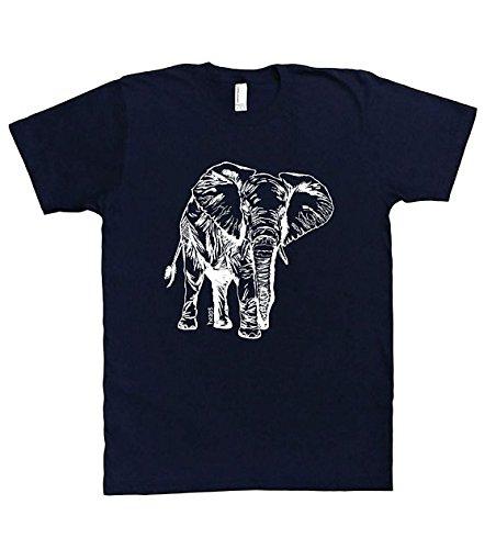 a1b8c60dacceed Mens Tshirt - Elephant Tee - Animal Funny Graphic Printed Short Sleeve S M  L XL XXL T Shirts
