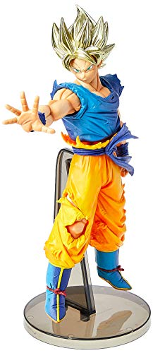 Action Figure Dragon Ball Z - Blood Of Saiyajins - Goku Super Saiyajin Bandai Banpresto Multicor
