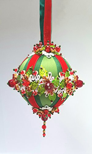 The Glimmer Tree Garland Beaded Ornament Kit 3