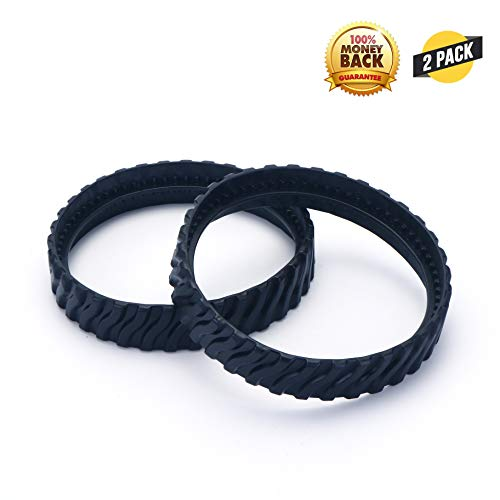 MX8 Pool Cleaner Parts Exact Track Replacement Tire Track Wheel for Baracuda R0526100 Mx8 Mx6,2 Pack.
