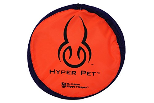 "Hyper Pet 9"" Flippy Flopper Original Dog Toy, Assorted color"