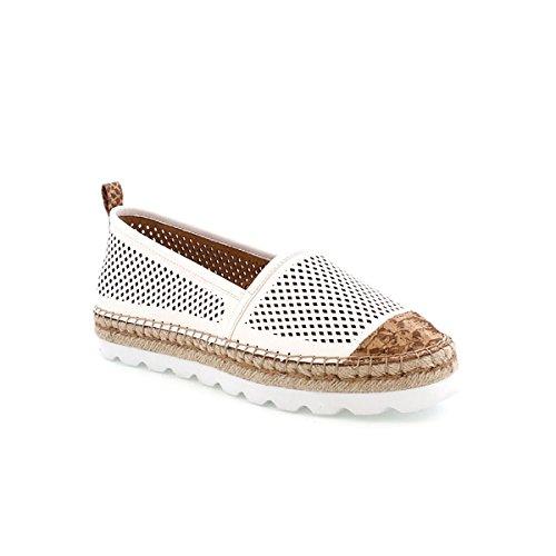 Sixtyseven 77784 - Zapatos de vestir para mujer Delfo negro/Acted blanco