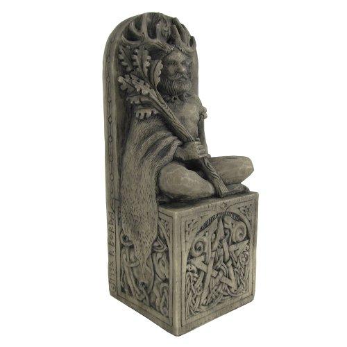 Seated God Statue Stone Finish ()