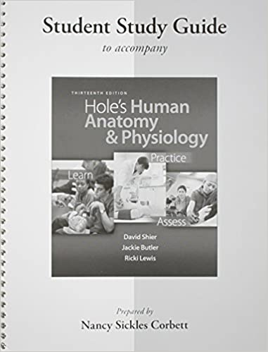 Amazon.com: Student Study Guide Hole\'s Human Anatomy & Physiology ...
