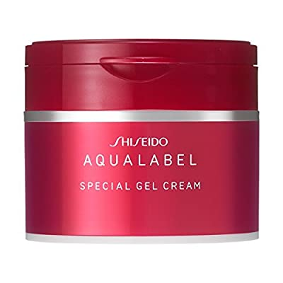 Shiseido Aqualabel Special Gel Cream with Collagen 90g Made in Japan Authentic Fast Shipping Ship Worldwide From Hengheng Shop