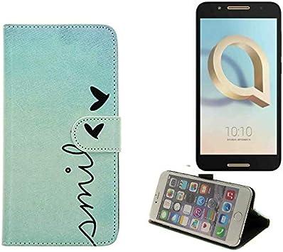 K-S-Trade 360° Funda Smartphone Compatible con Alcatel A7, Smile ...