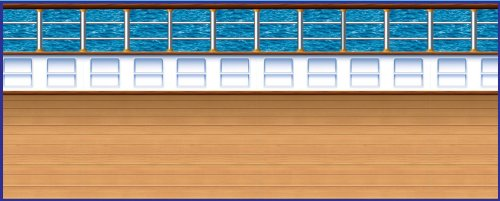Beistle 52028 1-Pack Cruise Ship Deck Backdrop, 4-Feet by (Cruise Ship Picture)