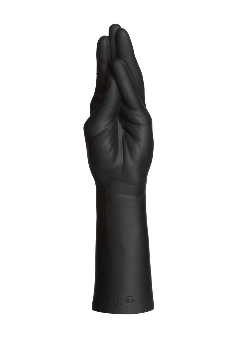 Kink by Doc Johnson - Everything Butt - Fist Fuckers - Stretching Hand - 11.5'' Long and 2.5'' Wide - Vac-U-Lock Compatible Hand - SecondSkyn™ Silicone - Black