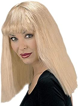 Magic Box Peluca con Flecos para Mujer de Kill Bill Style Blonde ...
