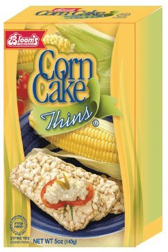 Corn Cake Thins (Pack of 24) by Blooms (Image #1)