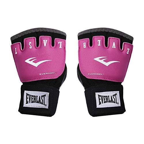 Luva Bandagem Duster Everlast Preto/Pink P-M