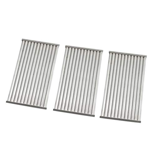 """Replace parts 3 Pack Stainless Steel Cooking Grates Replacement for Gas Grill Model Charbroil 463338014,463322613,(16.9375""""x 25.5"""")"""