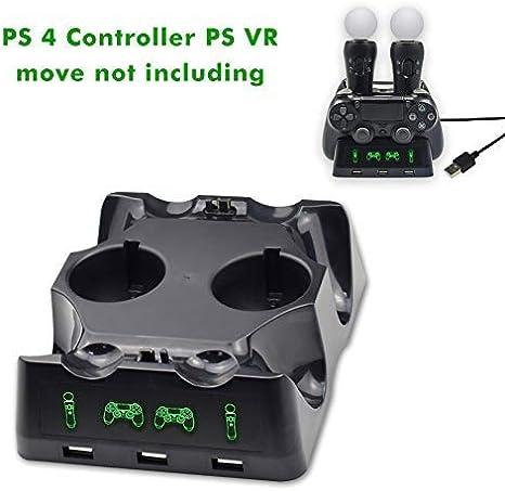 Estación de acoplamiento PS 4 / PS VR, estación de acoplamiento ...