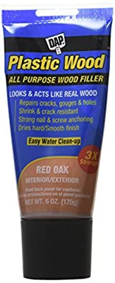 Dap 00581 6 oz. Plastic Wood Latex Wood Filler, Natural