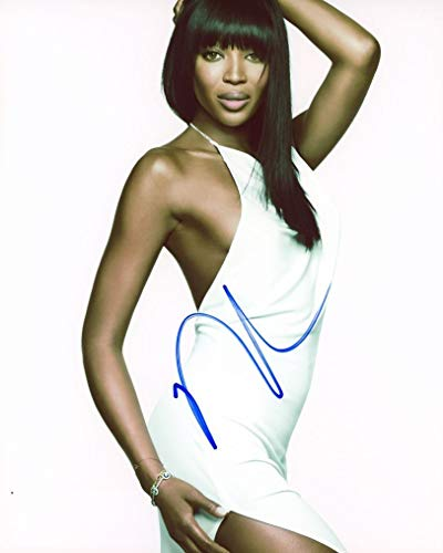 NAOMI CAMPBELL - Supermodel AUTOGRAPH Signed 8x10 Photo from TopPix Autographs