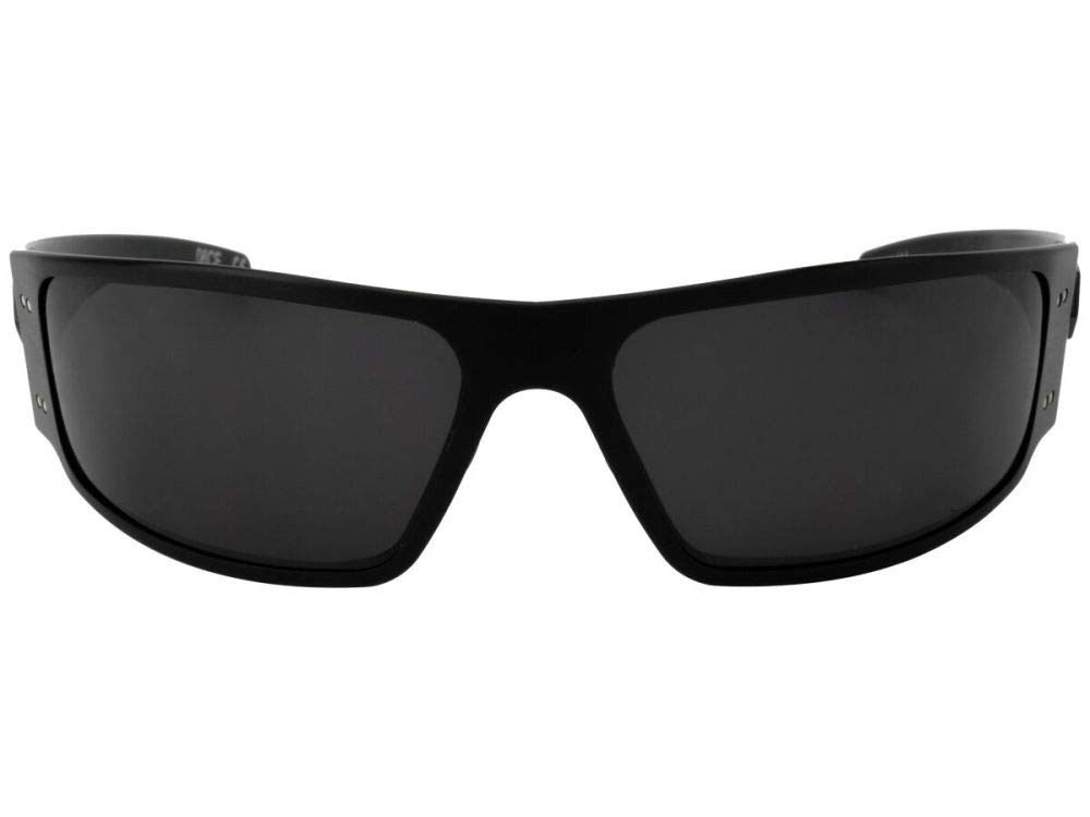 04c32c254f0 Gatorz Magnum Aluminum Frame Sunglasses -Blackout Tactical Smoked Polarized  Lens - MAGBLK01PMBP   Safety Glasses   Sports   Outdoors - tibs