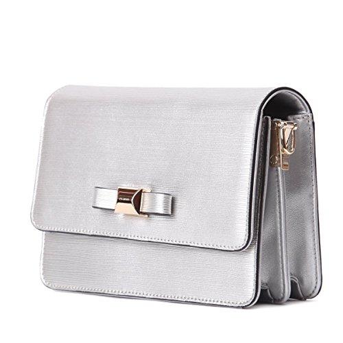 Lederleiter Europa Taschen Vintage Handtasche kleine Damen,Mini Messenger Umhängetaschen