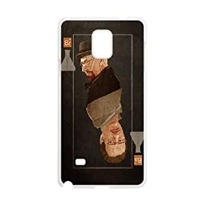 Heisenberg Card Samsung Galaxy Note 4 Cell Phone Case White phone component AU_623106