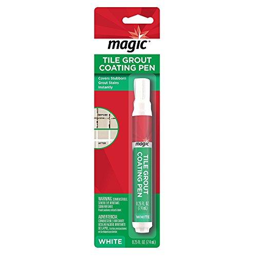 Magic Tile & Grout Coating Pen (Magic Tub And Tile Refinishing Kit Instructions)