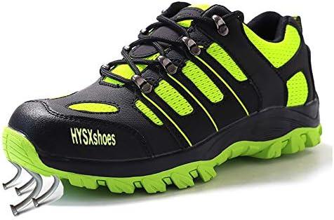 Calzado de Seguridad Ligero Antideslizante, Sitio Montaña Asfalto, Zapatos de Trabajo Industrial Deportivo para Hombre Mujer: Amazon.es: Zapatos y complementos