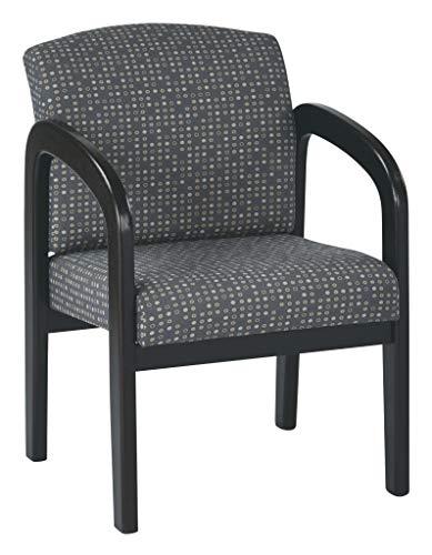 - Work Smart WD388-K102-osp Espresso Finish Wood Visitor Chair, Ash