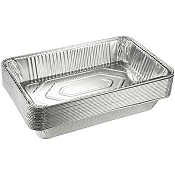 Amazon Com Aluminum Foil Pans 15 Piece Full Size Deep