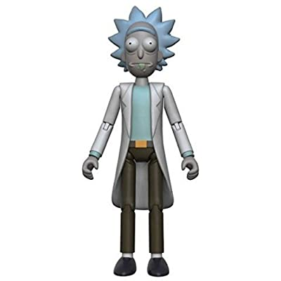 "Funko 5"" Articulated Rick and Morty Rick Action Figure: Funko 5 Articulated Action Figure:: Toys & Games"