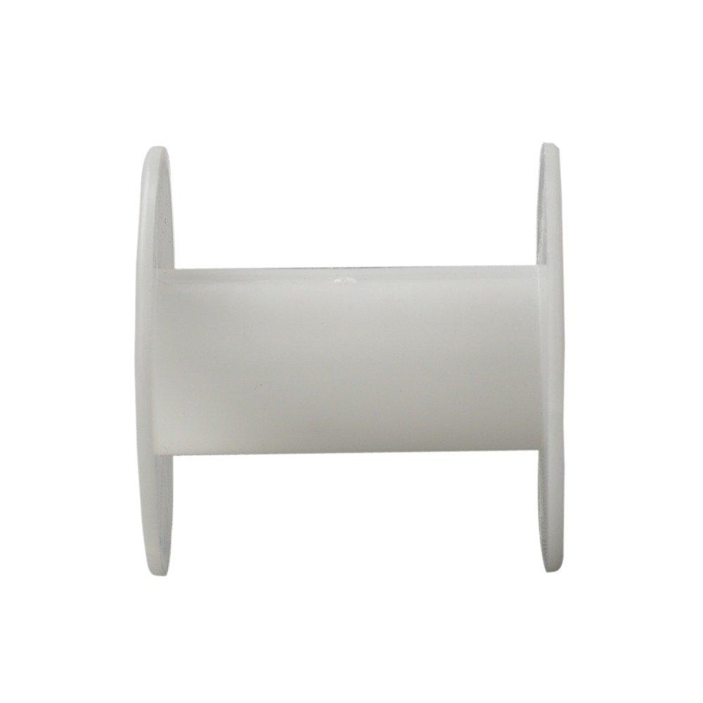 Amazon.com: Pandahall 50pcs/lot Plastic Spool Wheel White White ...