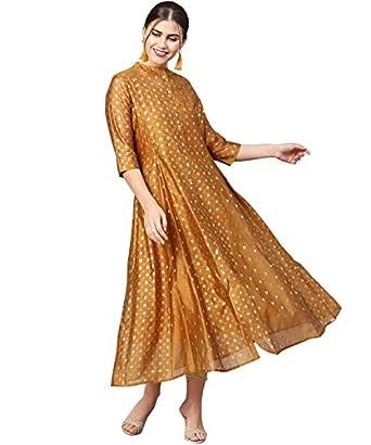 Juniper Women's Silk Layered & Tiered Kurta