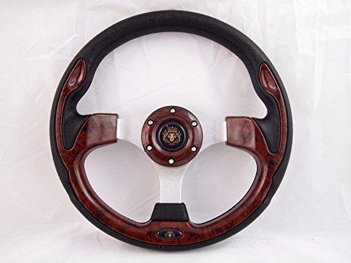 Boat Steering wheel W/ Adapter 3 spoke boats with 3/4