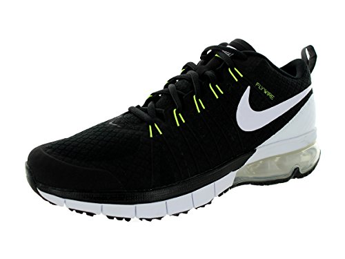Nike Mens Air Max Tr180 Cross Trainer Svart / Volt / Vit