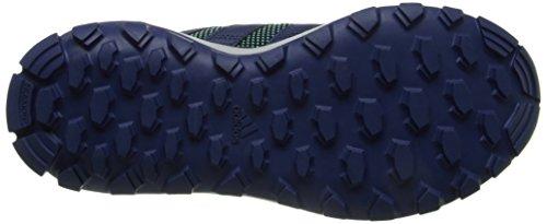 Adidas Performance catapulta Trail zapatillas de running, azul / púrpura en bruto / azul, 5 M US Blue/Raw Purple/Blue