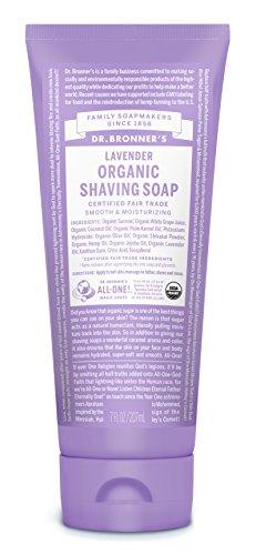 7 Oz Shaving Gel (Dr. Bronner's Shaving Gel, Lavender - 7 oz)